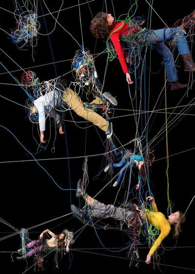 Daniel Canogar, 'Enredos 6', 2008