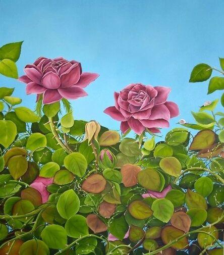 Allison Green, 'July Roses', 2013