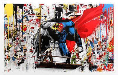 Mr. Brainwash, 'BATMAN VS SUPERMAN', 2016
