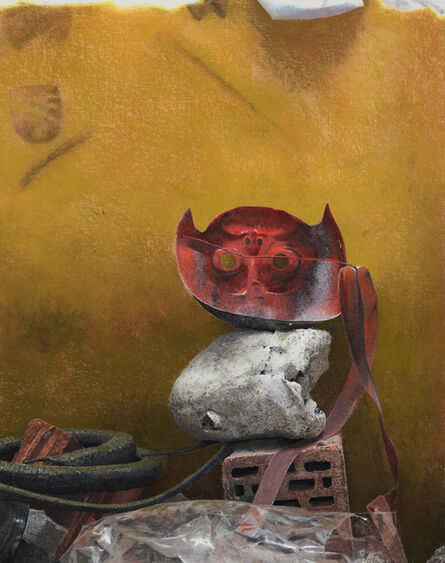 Narcisse Tordoir, 'Mask', 2013