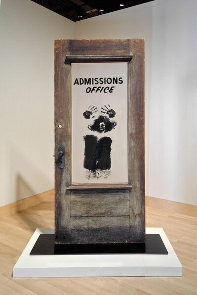 David Hammons, 'The Door (Admissions Office)', 1969
