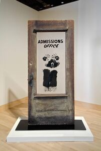 David Hammons, 'The Door (Admissions Office)', 1969