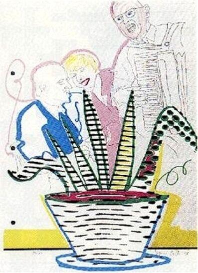 Sigmar Polke, 'Betriebsfest', 1998