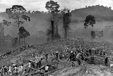 Juca Martins, 'Gold mining at Serra Pelada, Pará, 1980', 2017