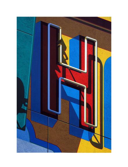 Robert Cottingham, 'An American Alphabet: H', 2010