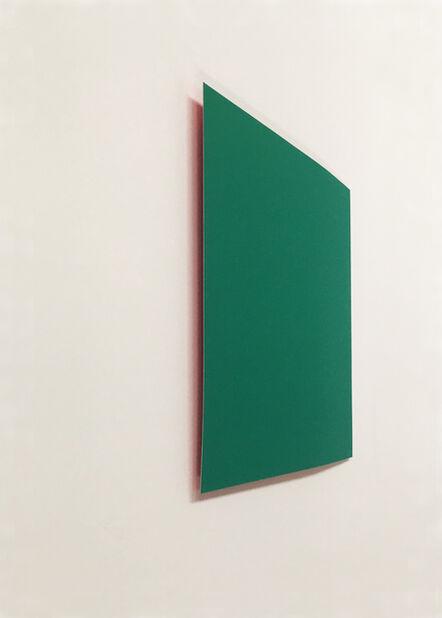 Susan York, 'Green: Red', 2018