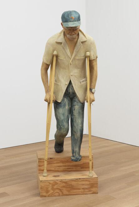 John Ahearn, 'Henry Manns descending Stairs  ', 1999/2009