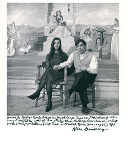 """Allen Ginsberg, 'Anna & George Condo before """"Adoration of St. Lucy"""", New York, January 15, 1993', 1993"""