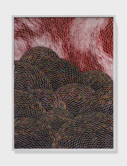 Timothy Hyunsoo Lee, 'Plein air painting of a hellscape I', 2018