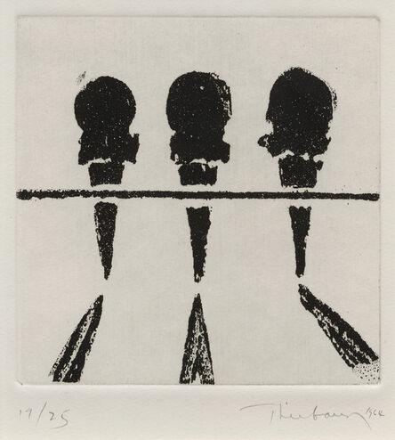 Wayne Thiebaud, 'Sugar Cones', 1964