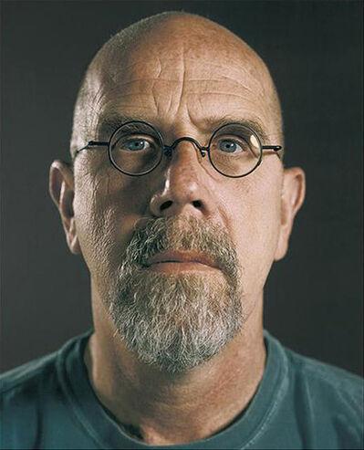 Chuck Close, 'Untitled (Self-Portrait)', 2007