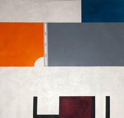 "patricia golombek, 'Jorge Zalszupin table on architect Nathan Akermann's apartment- Brazil 64""X66'1/2( h)', 2017"