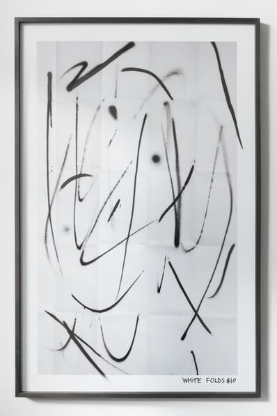 Ian Waelder, 'White Folds #10', 2016