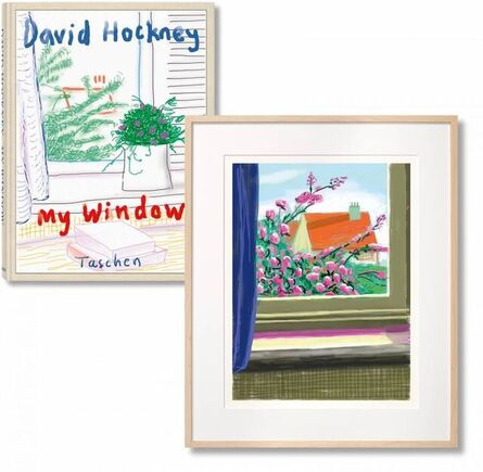 David Hockney, 'iPad drawing 'No. 778', 17th April 2011 with David Hockney. My Window. Art Edition (No. 751–1,000)', 2019