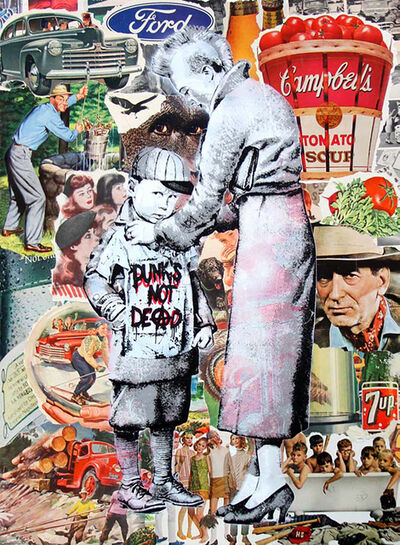 Mr. Brainwash, 'Punk's Not Dead', 2014