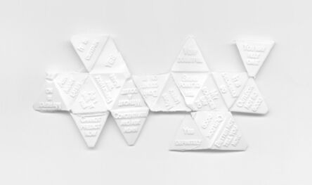 Aspen Mays, 'Map of the World (after Buckminster Fuller)', 2008