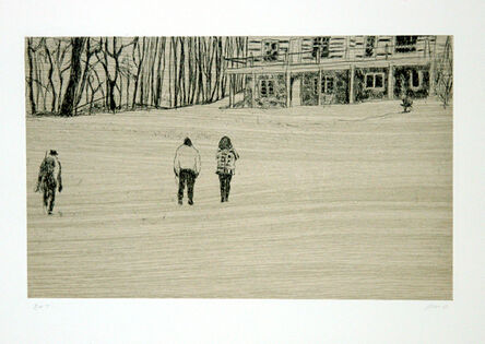 Peter Doig, 'From 'Pond Life' from Ten Etchings', 1996