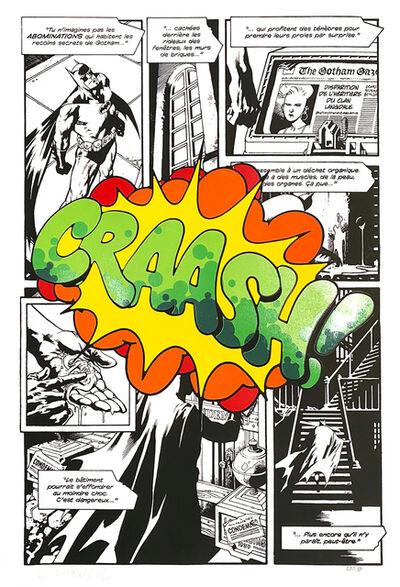 """CRASH (John """"Crash"""" Matos), 'Craash! Comic Strip', 2016"""