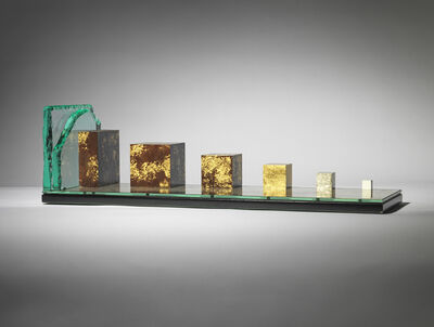 Johnny Hawkes, '13. What is Enough, maquette (50/1 scale)', 2020