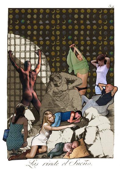 Lluis Barba, 'Las rinde el sueño. Goya ', 2019