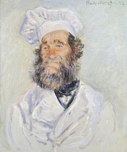 Claude Monet, 'Der Koch (Le Chef Père Paul)', 1882