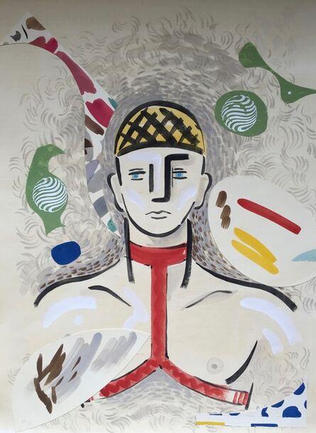 Kazumi Yoshida, 'Portrait series, No. 7', 2017