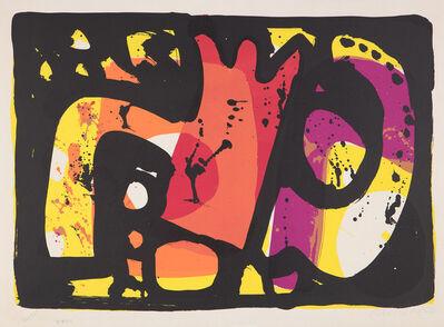 Alan Davie, 'Zurich Improvisations XXIII', 1965