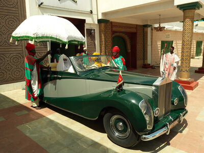George Osodi, 'Emir of Kano's Rolls Royce', 2012