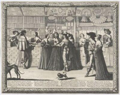 Abraham Bosse, 'La Galerie du Palais', 1638