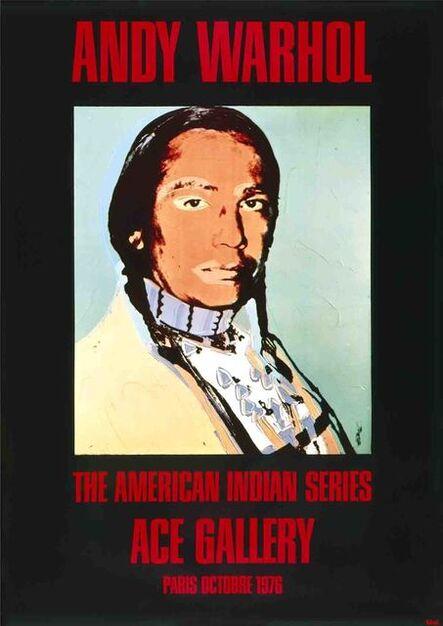 Andy Warhol, 'American Indian Portrait (Black)', 1976