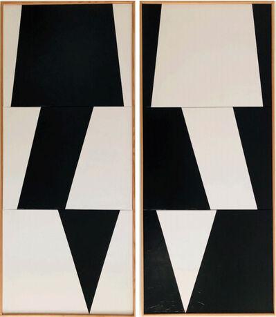 Jason Trotter, 'Double Jagged Triptychs (JET0655)', 2021
