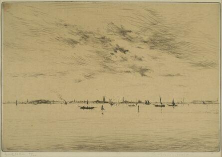 Edgar Chahine, 'Lagoon, Venice ', ca. 1922