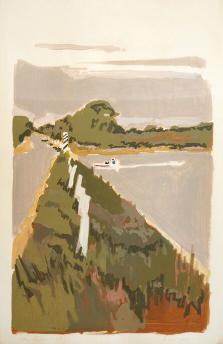 Robert Dash, 'Bayman', 1980