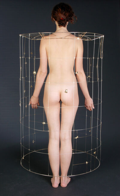 Mel Chin, 'Cluster: APERS-BLU-61 (Anti-Personnel Cluster Bomb cage adornment), ', 2005-2006