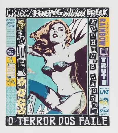 FAILE, 'The Right one Happens Every Day', 2014