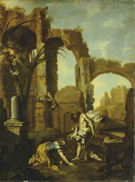Alessandro Magnasco, called il Lissandrino, 'Noli Me Tangere', 1705-1710
