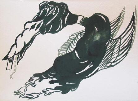 Allison Schulnik, 'Duck #2', 2014
