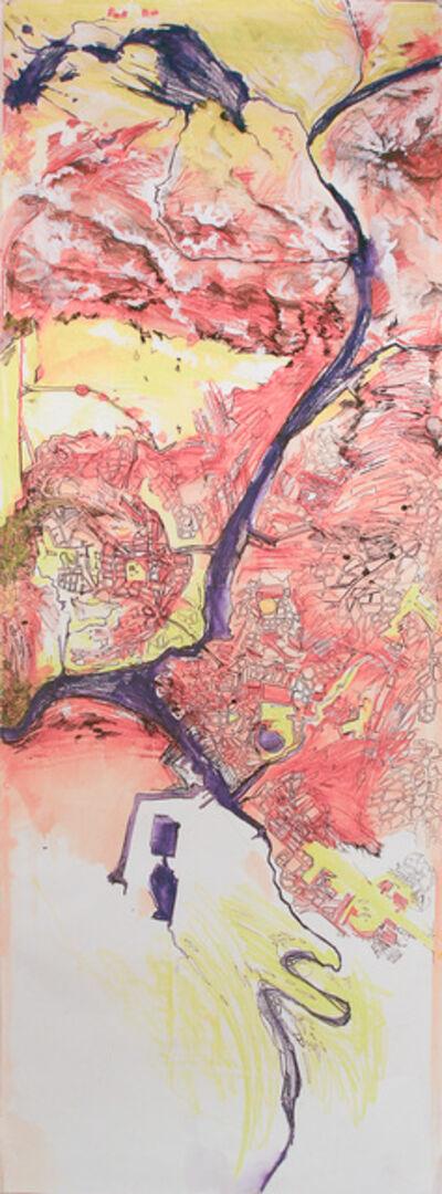 Madeleine Brehm Boucher, 'Map (Mountains)', 2010-2012