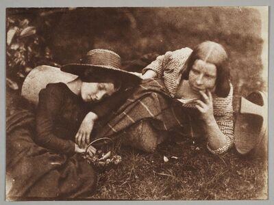 Hill & Adamson, 'The Misses McCandlish', 1843–1847