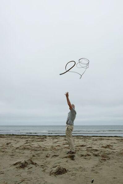 Andy Goldsworthy, 'Kelp thrown into a grey, overcast sky Drakes beach, California', 2013