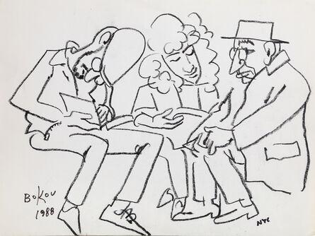 Konstantin Bokov, 'Reading', 1988