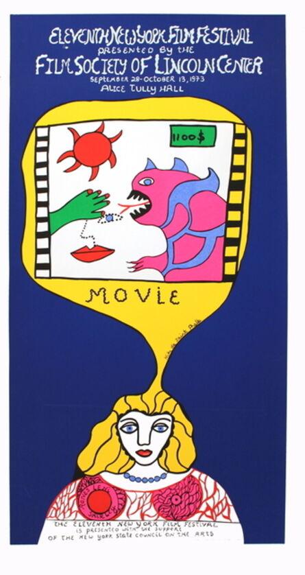 Niki de Saint Phalle, '11th New York Film Festival', 1973