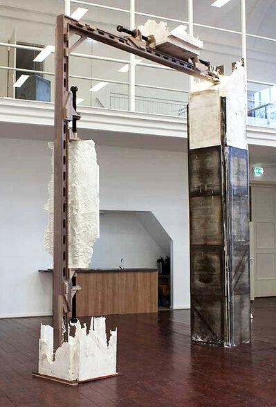 Jonas Wijtenburg, '[ Detail ] Reconstructing ruined motives #1', 2013