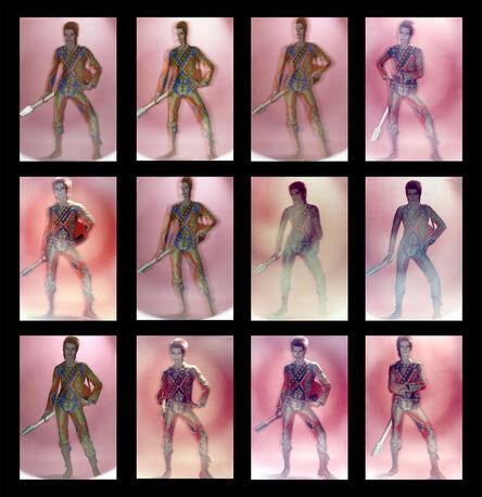 Brian Duffy, 'David Bowie: Ziggy Stardust, Contact Sheet', 1972