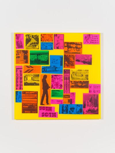 Dan Murphy, 'Sticker Collection', 2014