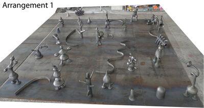 Mark Hadjipateras, 'Aluminium sculptures for installation'