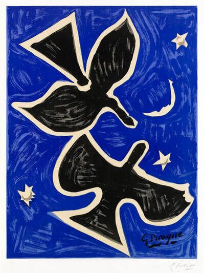 Georges Braque, 'Deux Oiseaux (Richesse de la France)', 1961