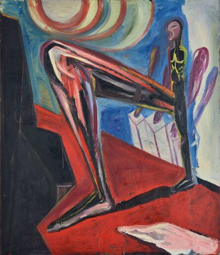 Klaus Killisch, 'Der grosse Schritt', 1988