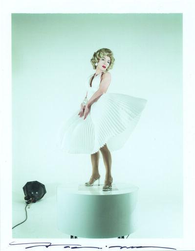 Yasumasa Morimura 森村 泰昌, 'White Marilyn', 1995