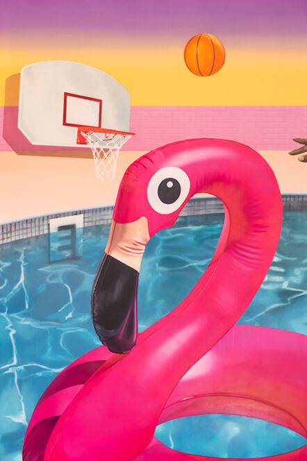 Ciara Rafferty, 'Flamingo Basketball', 2020